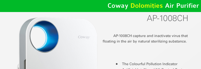 Coway Dolomities Air Purifier Malaysia